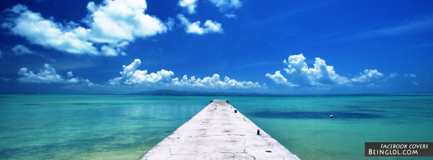 Okinawa Beach Facebook Cover