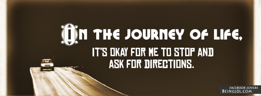 On The Journey Of Life Facebook Cover
