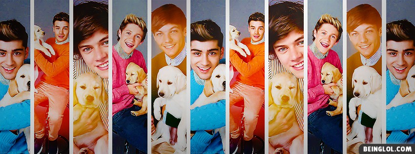 One Direction Collage Facebook Cover
