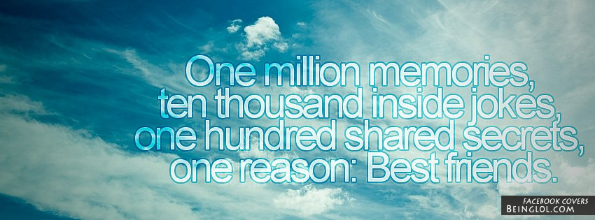 One Million Memories Facebook Cover