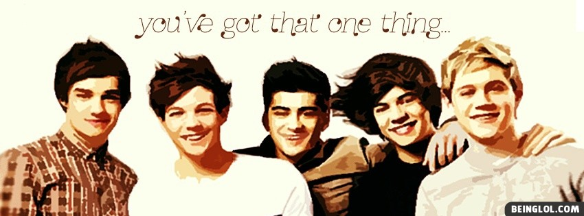 One Thing One Direction Facebook Cover