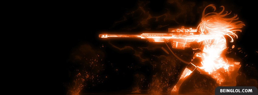 Orange Sharpshooter Facebook Cover