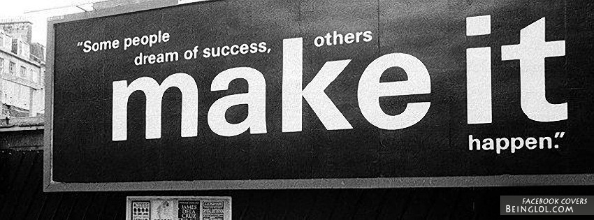 Others Make It Happen Facebook Cover