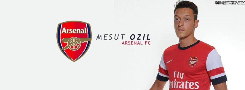 Ozil Arsenal Facebook Cover