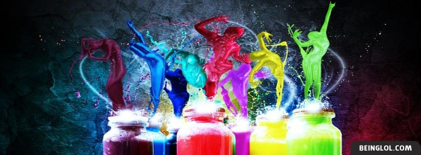 Paint Dancers Facebook Cover