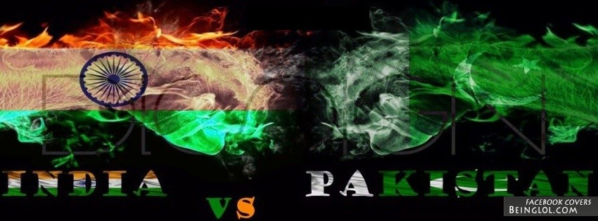 Pakistan Vs India Facebook Cover