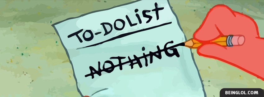 Patrick To Do List Facebook Cover