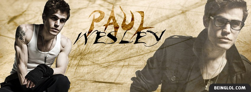 Paul Wesley Facebook Cover