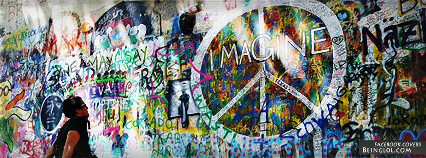 Peace Graffiti Facebook Cover