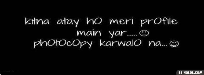 Photocopy Krwa Lo Na :p Facebook Cover
