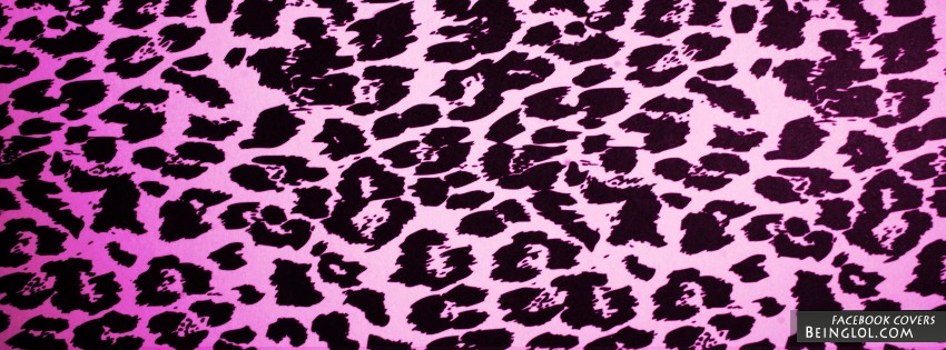 Pink Cheetah Print Facebook Cover