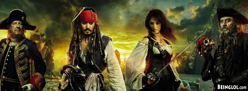 Pirates Of The Caribean On Stranger Tides Facebook Cover