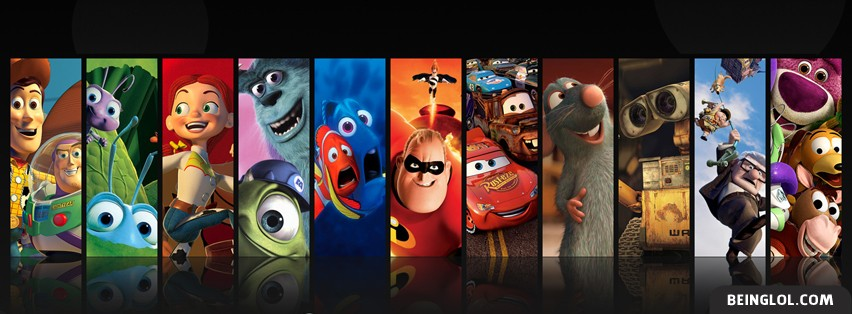 Pixar Compilation Facebook Cover