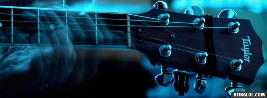 Playing Guitar Facebook Cover
