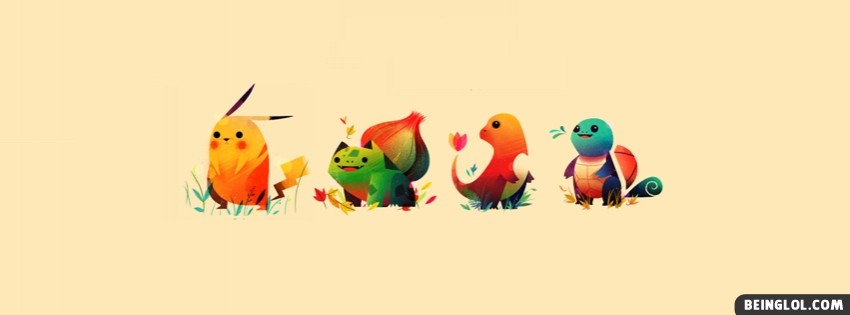 Pokemon Facebook Cover