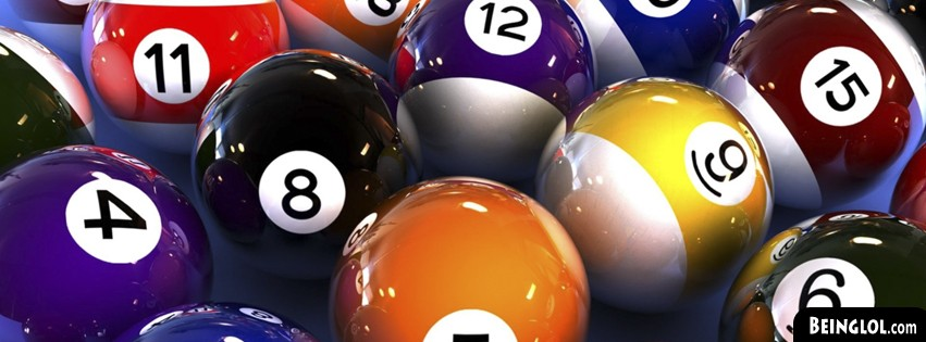Pool Balls Facebook Cover