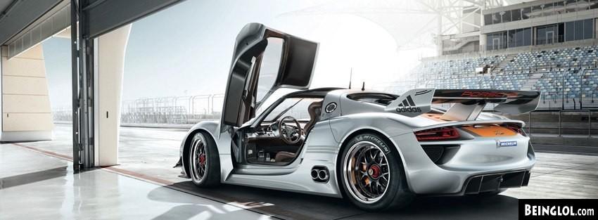 Porsche 918 Rsr Facebook Cover
