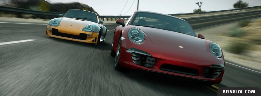 Porsche Run Facebook Cover