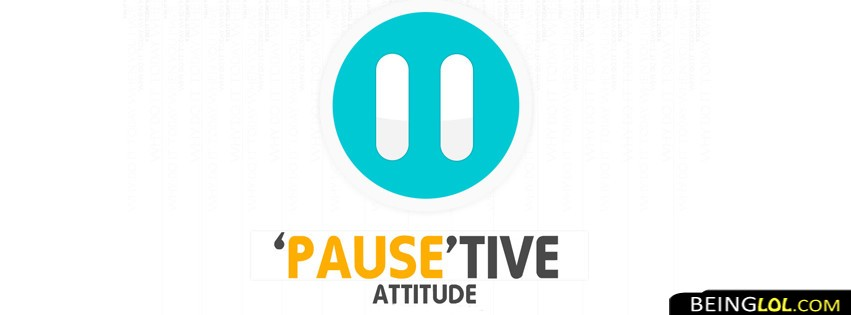 Positive Attitude Facebook Cover