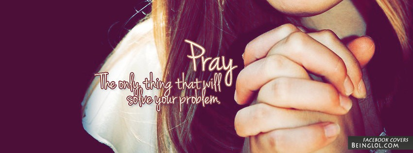 Pray Facebook Cover