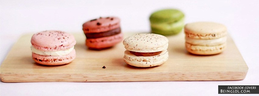 Pretty Macaroons Facebook Cover