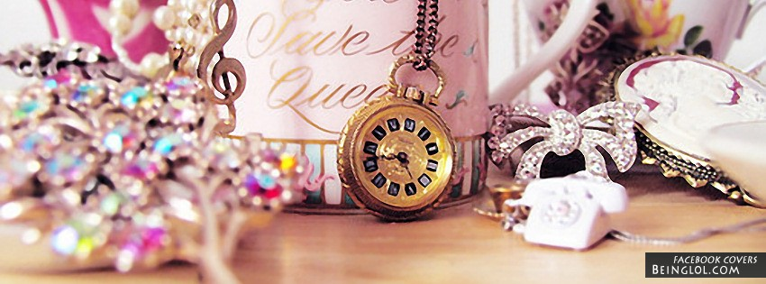 Pretty Necklaces Facebook Cover