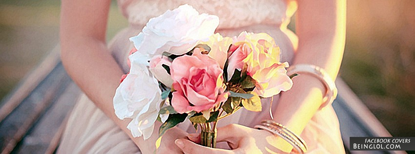 Pretty Roses Facebook Cover