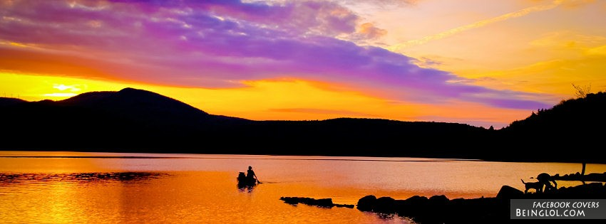 Pretty Sunset Facebook Cover