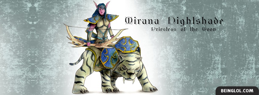 Priestess Of The Moon Facebook Cover