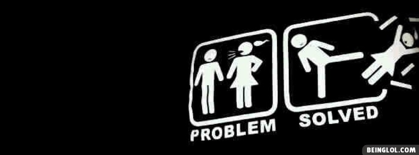 Problem Solved Facebook Cover