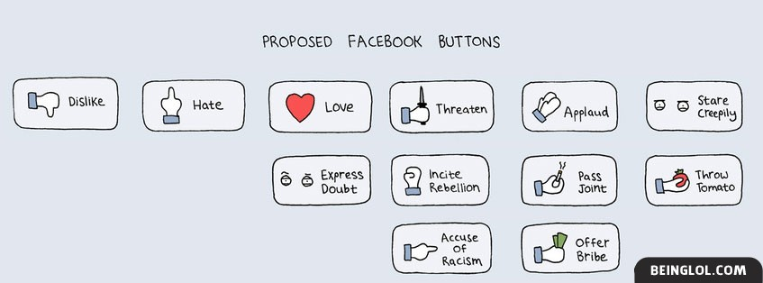 Proposed Buttons Facebook Cover