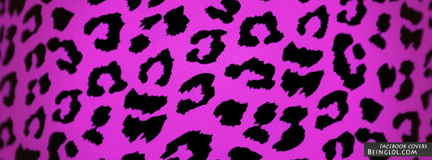 Purple Cheetah Print Cover