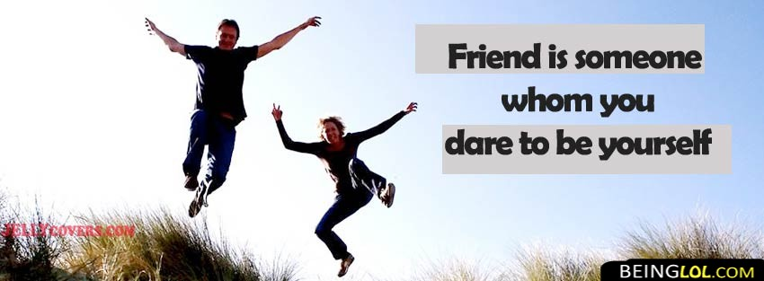Quote About Friendship Facebook Cover