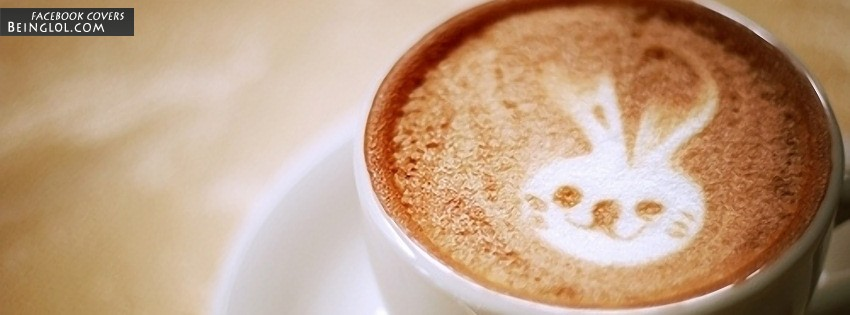 Rabbit Art Coffee Facebook Cover