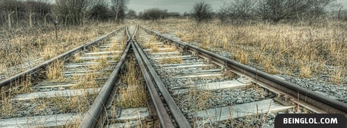 Railroad Tracks Facebook Cover