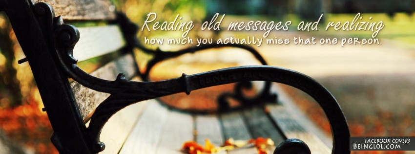 Reading Old Messages Facebook Cover