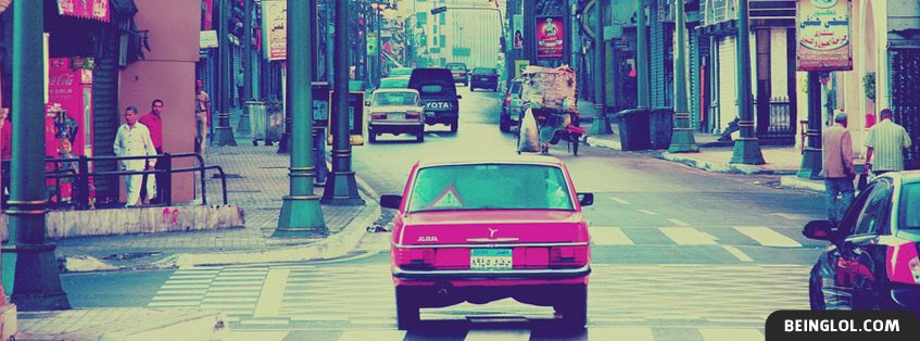 Retro Street Facebook Cover