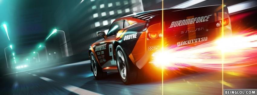 Ridge Racer 3D Facebook Cover