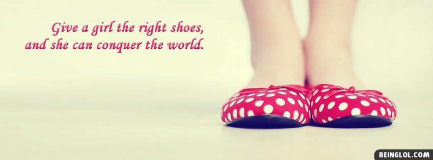 Right Shoes Facebook Cover