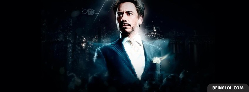 Robert Downey Facebook Cover