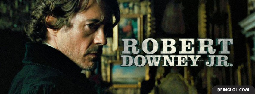 Robert Downey Jr 2 Facebook Cover