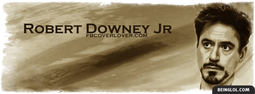 Robert Downey Jr 3 Facebook Cover
