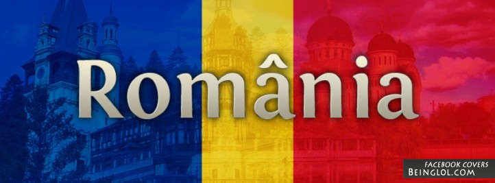 Romania Flag Facebook Cover