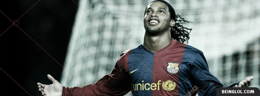 Ronaldinho Goal Celebration Facebook Cover
