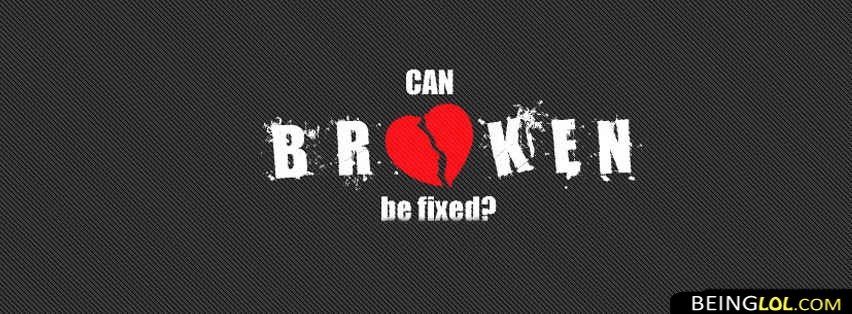 Sad Broken Heart Love Facebook Cover