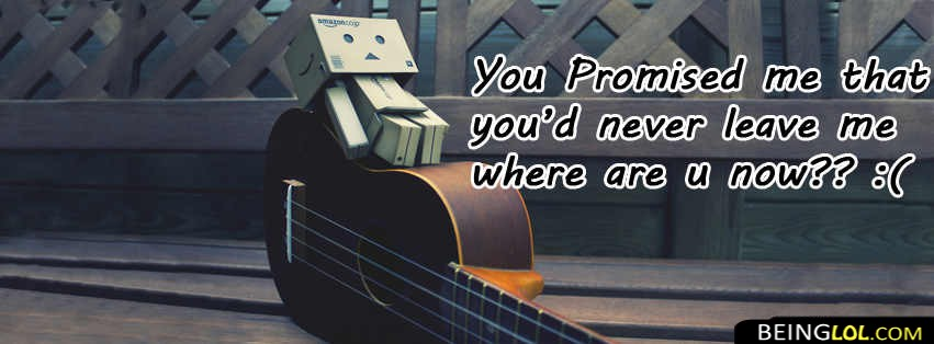 Sad Love Quote  Facebook Cover