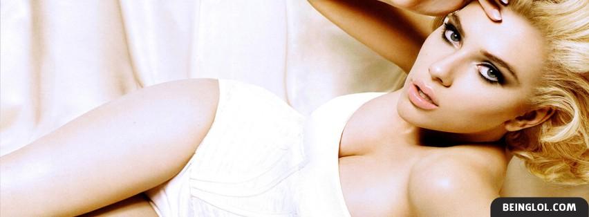 Scarlett Johansson Facebook Cover