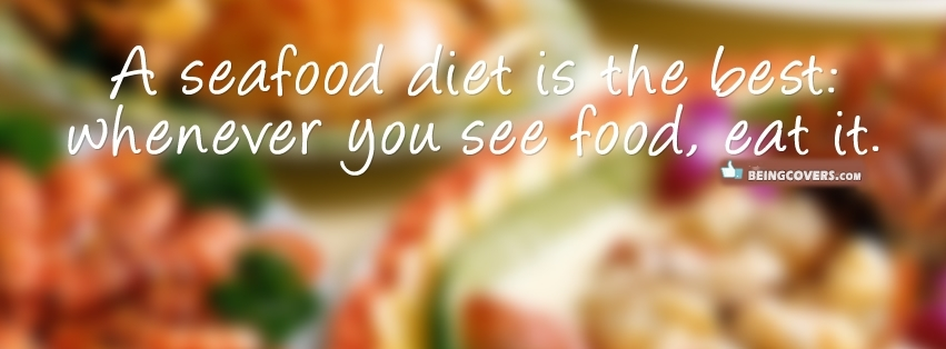 Seafood Diet Facebook Cover