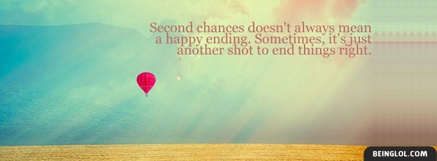 Second Chances Facebook Cover
