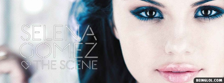 Selena Gomez The Scene Facebook Cover